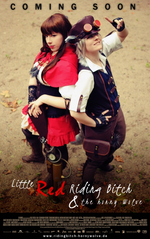 Cosplay Little Red Riding Bitch and the Horny Wolf